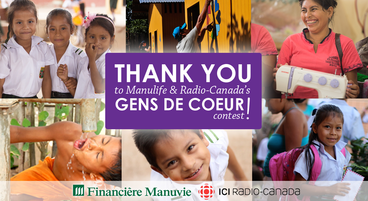 Thank you Radio-Canada & Manulife