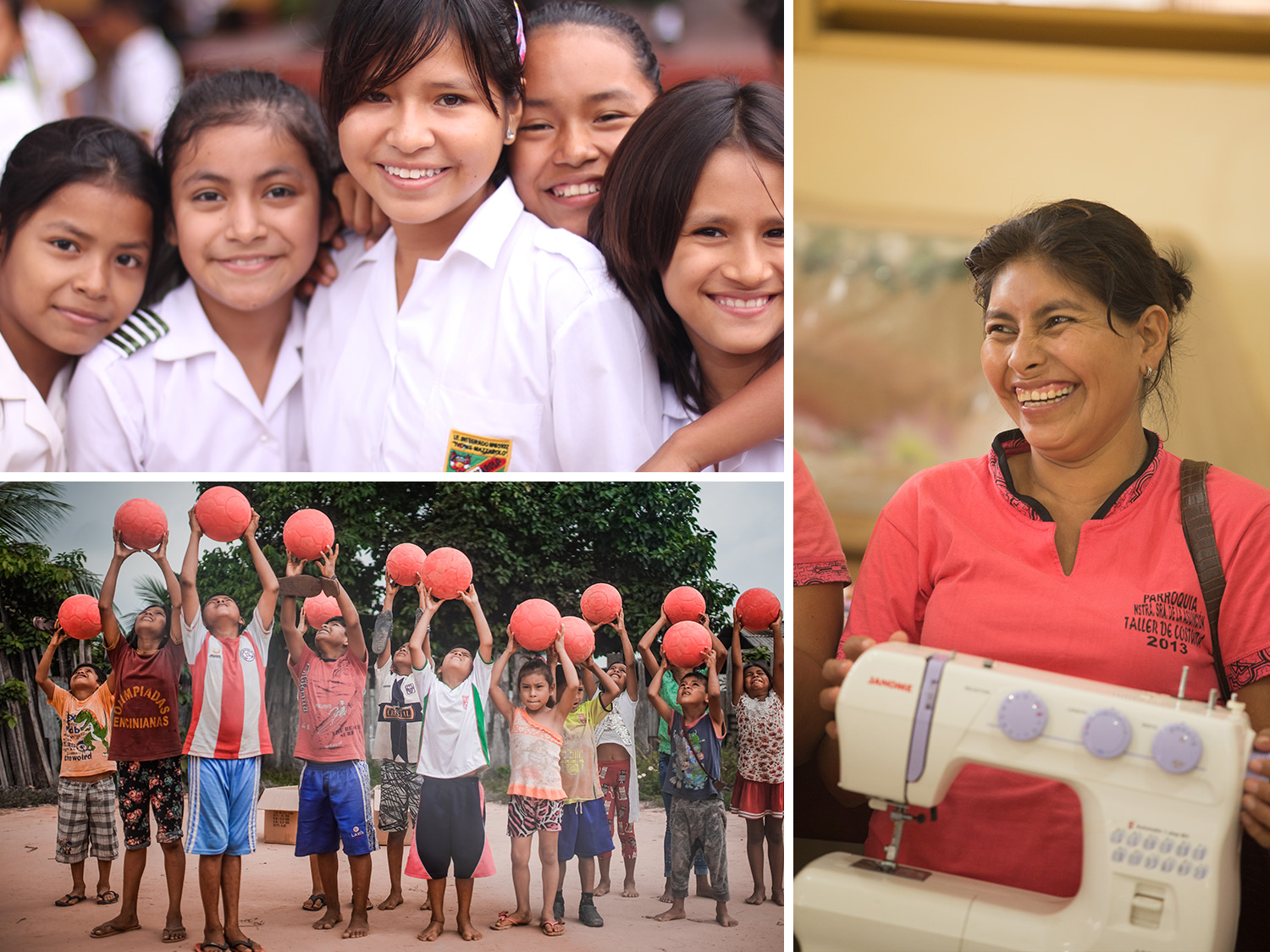 Thank you to our donors. Soctiabank RISE program. Sustinable development and women empowerment in Peru.